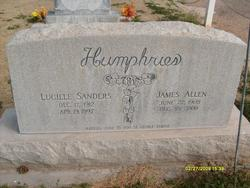 Lucille <i>Sanders</i> Humphries
