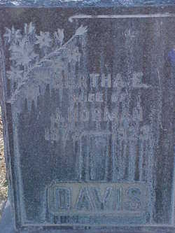 Bertha Elizabeth <i>Stands</i> Davis