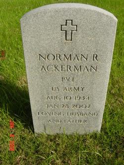 Norman R Ackerman
