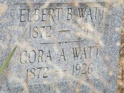 Cora Ann <i>Baird</i> Watt