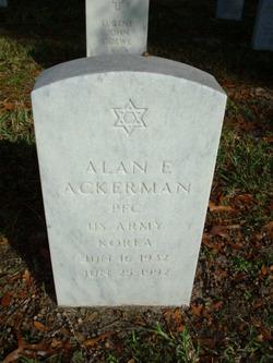 Alan E Ackerman