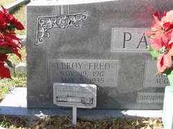 Leroy Fred Padgett