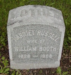 Harriet <i>Russell</i> Booth