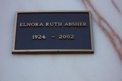 Elnora Ruth Absher