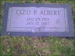 Cleo P Alberts