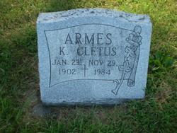 K Cletus Armes