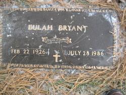 Bulah Bryant