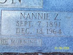 Nannie Z. <i>Fannin</i> Batson