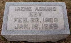 Irene <i>Adkins</i> Eby