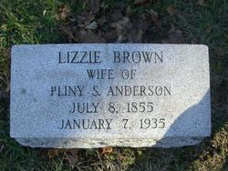 Lizzie <i>Brown</i> Anderson