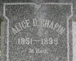 Alice Deeble Chapin