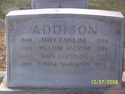 Mary Caroline <i>Withington</i> Addison