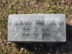 J Howard Anthony, Sr