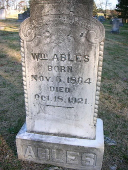 William M. Billy Ables