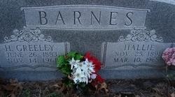 Hallie Mae <i>Gott</i> Barnes