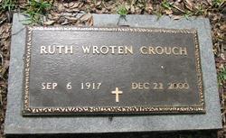 Ruth <i>Wroten</i> Crouch