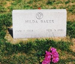 Hilda <i>Robbins</i> Baker