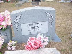 Rosie <i>Davis</i> Bolds