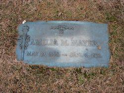 Amelia M Mayer