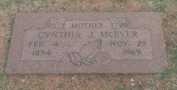 Cynthia Jane <i>Rogers</i> McEver