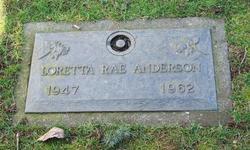 Loretta Rae Anderson