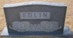 Aloise <i>Ross</i> Edlin