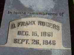 D. Frank Rogers
