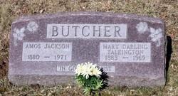 Mary Darling <i>Talkington</i> Butcher