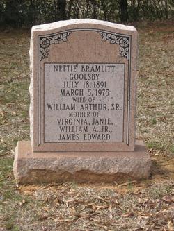 Nettie <i>Bramlett</i> Goolsby