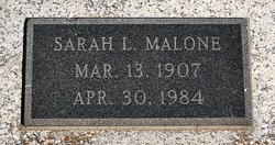 Sarah L Malone