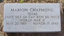 Marion Bud Monte Chapmond