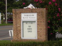 Fairfields Baptist Church Cemetery