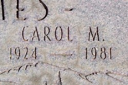 Carol Joyce <i>Miller</i> James