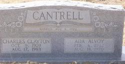 Ada Alvoy <i>Samuels</i> Cantrell