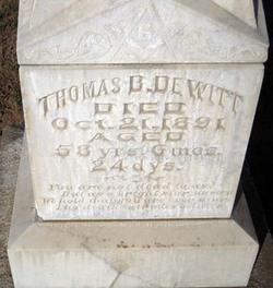 Thomas Buffington DeWitt
