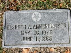 Elsbeth <i>Aust</i> Ammenhauser