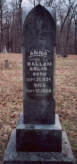 Anna <i>Goodwin</i> Bolin