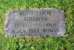 Ruth <i>Tabor</i> Sullivan