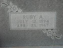 Ruby A. Barrow