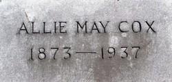 Allie <i>May</i> Cox