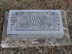 Bertha L. <i>Hodgden</i> Taylor