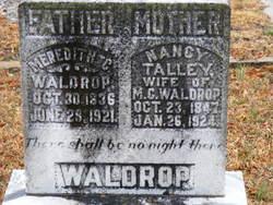 Meredith C Waldrop