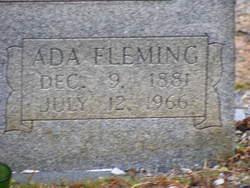 Ada <i>Fleming</i> Austin