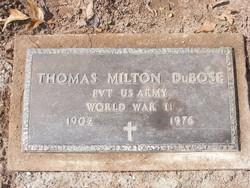 Thomas Milton DuBose