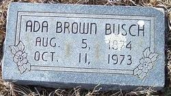 Ada <i>Brown</i> Busch