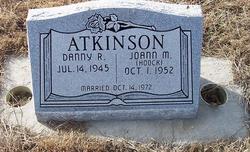 Joann M <i>Hoock</i> Atkinson
