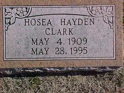 Hosea Hayden Clark