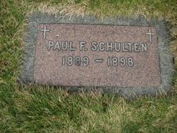 Paul Francis Schulten