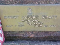 Deroy Albert Kraft