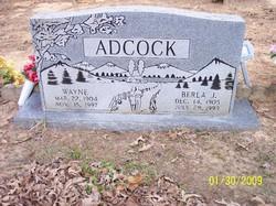 Wayne Wayman Arkie Adcock